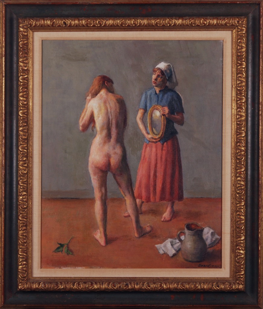 Robert Brackman Nude in Morning Chores 2