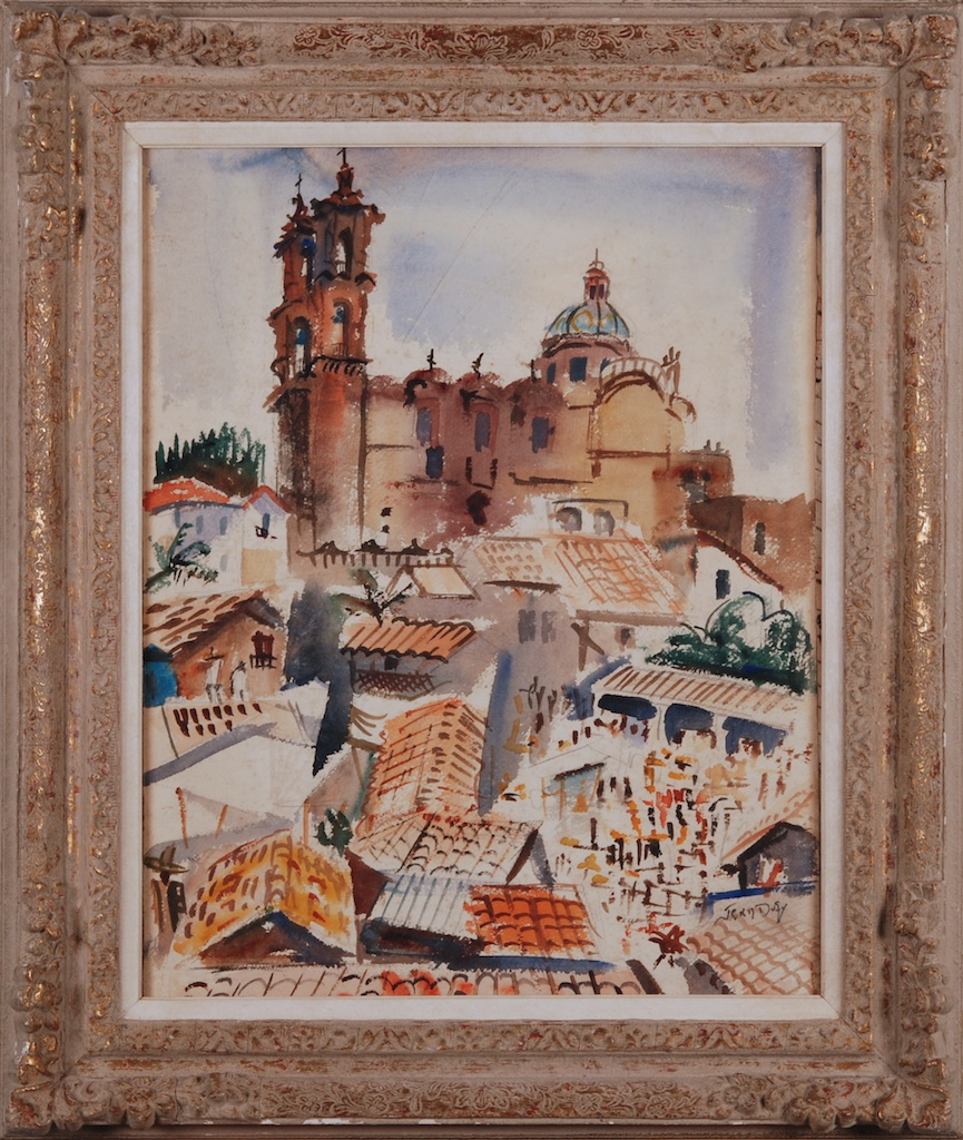 Jean Dufy Rooftops Basilica 2
