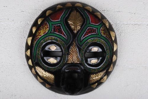 Beaded Ceremonial Mask - Ghana