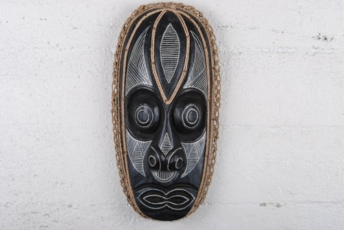 Black Tribal Mask