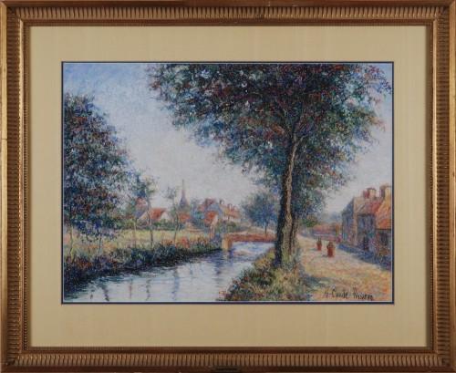 L'entrée de Moulins-Engilbert