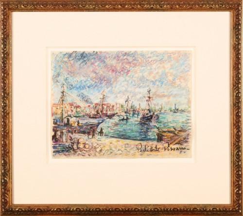 Merchant Boats in Harbour