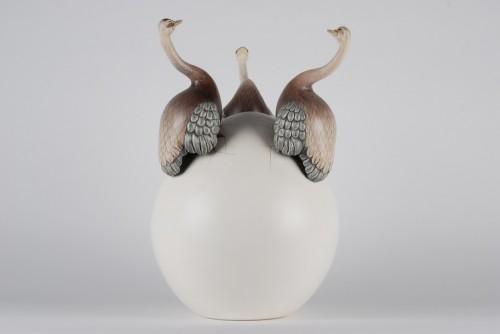 Huevo Avestruces (Egg Ostriches).
