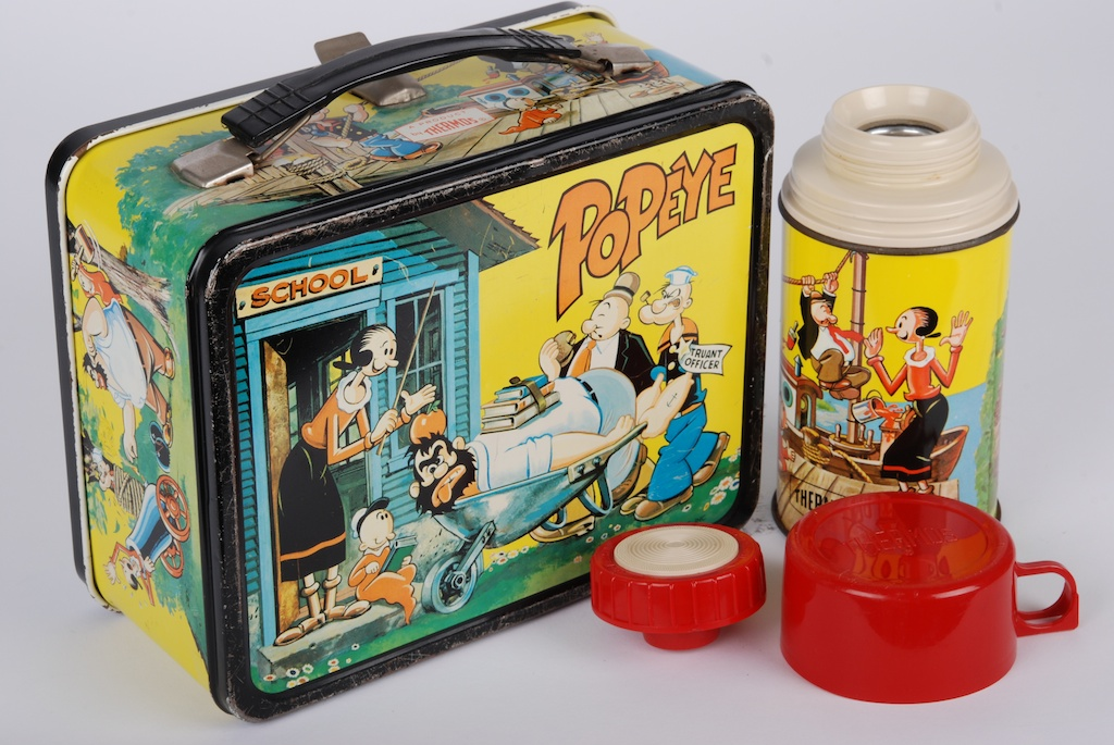 Popeye Lunch Box 5