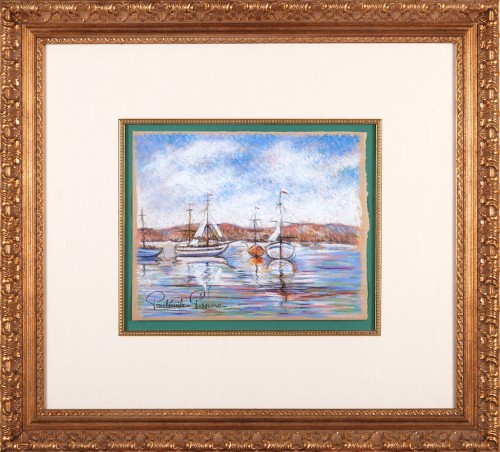 Sail Boats in Harbour
