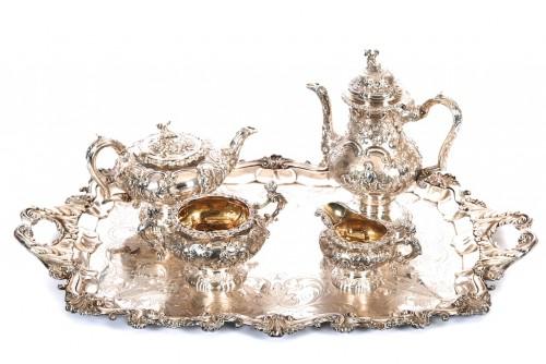 Sterling Silver Tea & Coffee Service