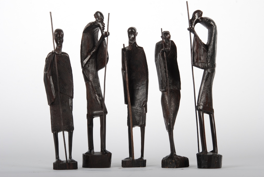 African Carvings Art Collection For Sale Original