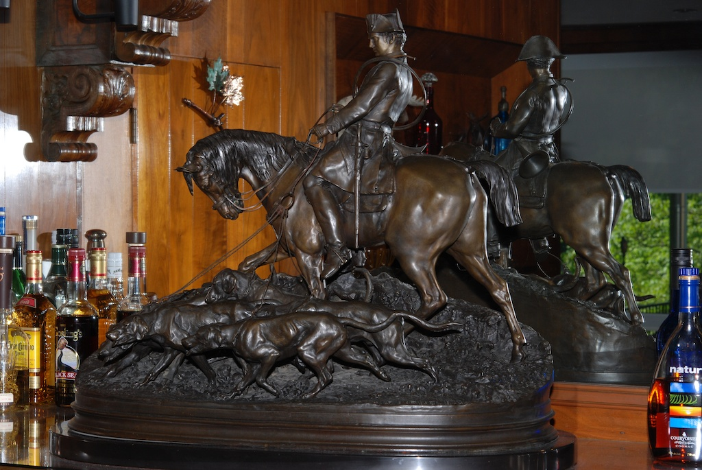 Pierre jules mene huntsman with dogs art collection for Original sculptures for sale