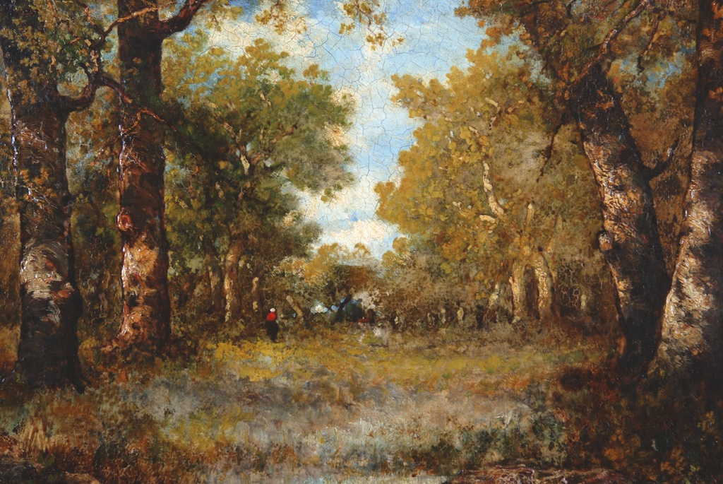 François Visconti - Italy, Forest Pond   Art Collection ...