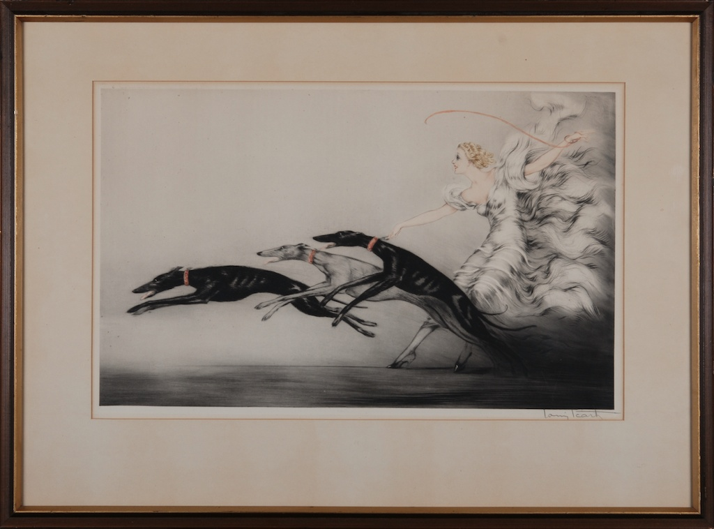 Louis Icart Art Collection For Sale Original Artwork